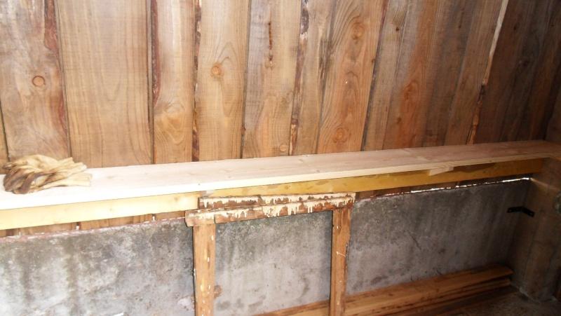 Fabrication d'un abris bois - Page 3 Sdc13912