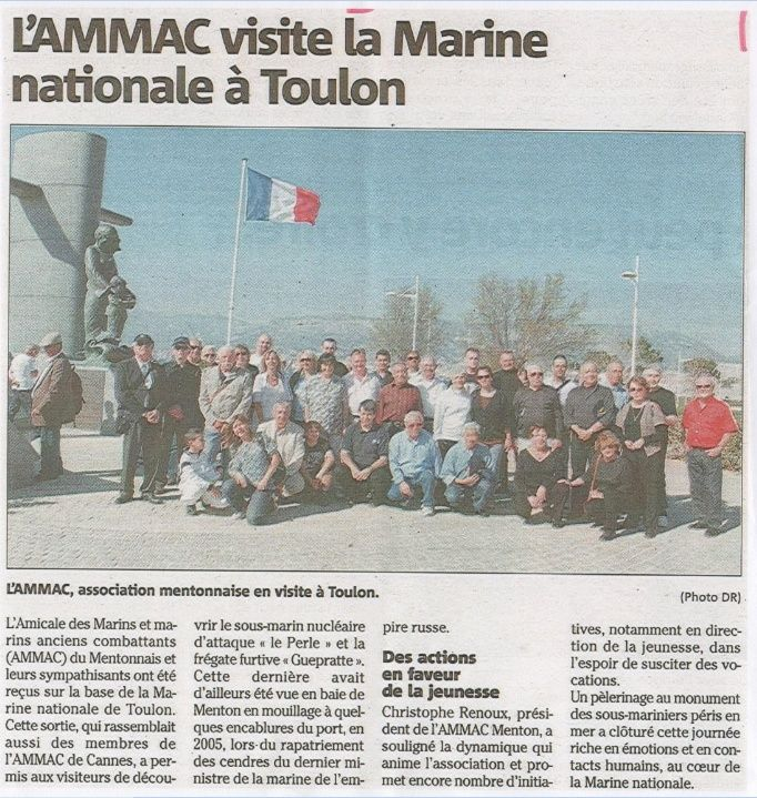 [ Associations anciens Marins ] AMMAC Cannes , Alpes-Maritimes Ammac11