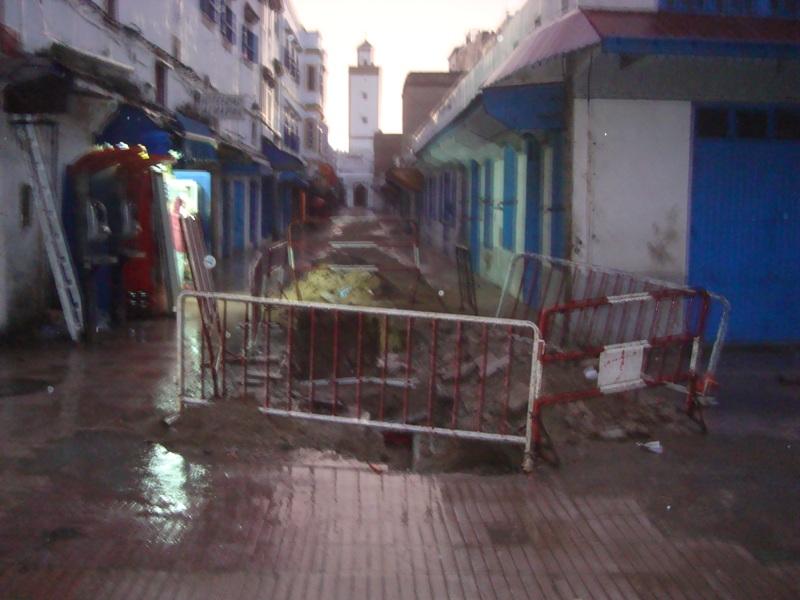 Essaouira n'en finit pas avec les travaux de son réseau d'assainissement Dsc00120