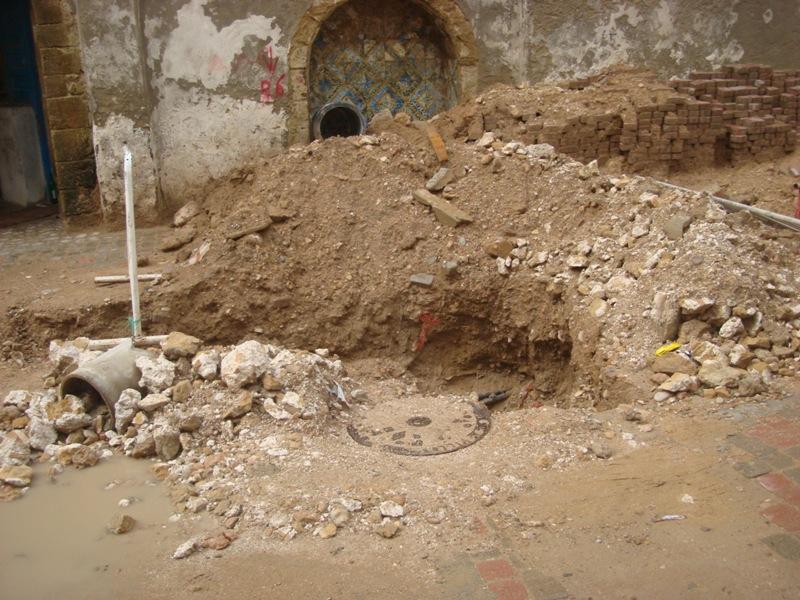 Essaouira n'en finit pas avec les travaux de son réseau d'assainissement Dsc00212