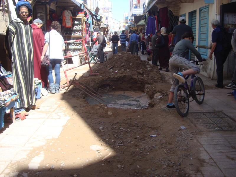Essaouira n'en finit pas avec les travaux de son réseau d'assainissement Dsc00312