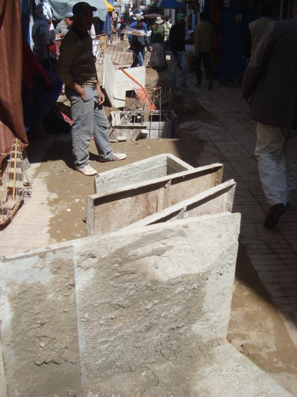 Essaouira n'en finit pas avec les travaux de son réseau d'assainissement Dsc00313