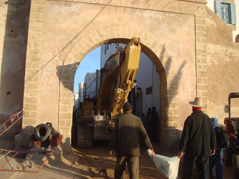 Essaouira n'en finit pas avec les travaux de son réseau d'assainissement Dsc00411