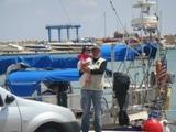 Une marina d'Essaouira dans le port de Mogador Dsc04924