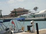 Une marina d'Essaouira dans le port de Mogador Dsc04927