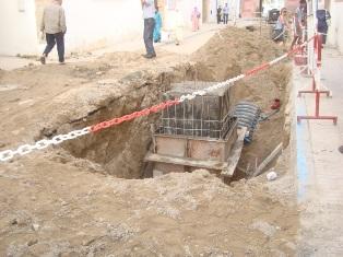 Essaouira n'en finit pas avec les travaux de son réseau d'assainissement Dsc08315