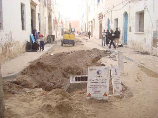 Essaouira n'en finit pas avec les travaux de son réseau d'assainissement Dsc08319