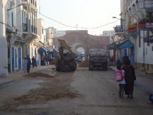 Essaouira n'en finit pas avec les travaux de son réseau d'assainissement Dsc09417