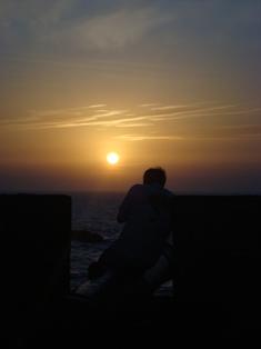 Les couchers sublimes à l'horizon d'Essaouira Dsc09420