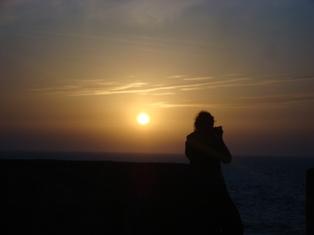 Les couchers sublimes à l'horizon d'Essaouira Dsc09424