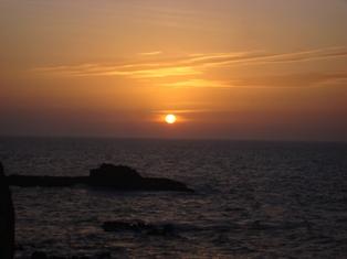 Les couchers sublimes à l'horizon d'Essaouira Dsc09426