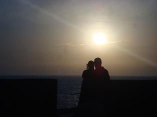 Les couchers sublimes à l'horizon d'Essaouira Dsc09428