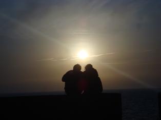 Les couchers sublimes à l'horizon d'Essaouira Dsc09429