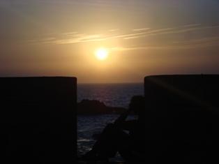 Les couchers sublimes à l'horizon d'Essaouira Dsc09430