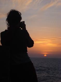 Les couchers sublimes à l'horizon d'Essaouira Dsc09511