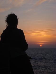 Les couchers sublimes à l'horizon d'Essaouira Dsc09512