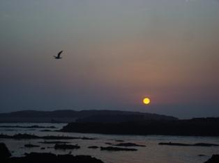Les couchers sublimes à l'horizon d'Essaouira Dsc09516