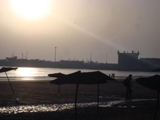 Les couchers sublimes à l'horizon d'Essaouira Dsc09522