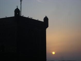 Les couchers sublimes à l'horizon d'Essaouira Dsc09524