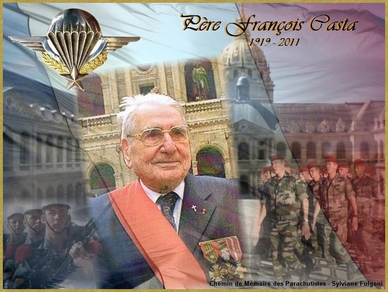 Le père Casta, Aumonier, officier parachutiste n'est plus  Pare_c10