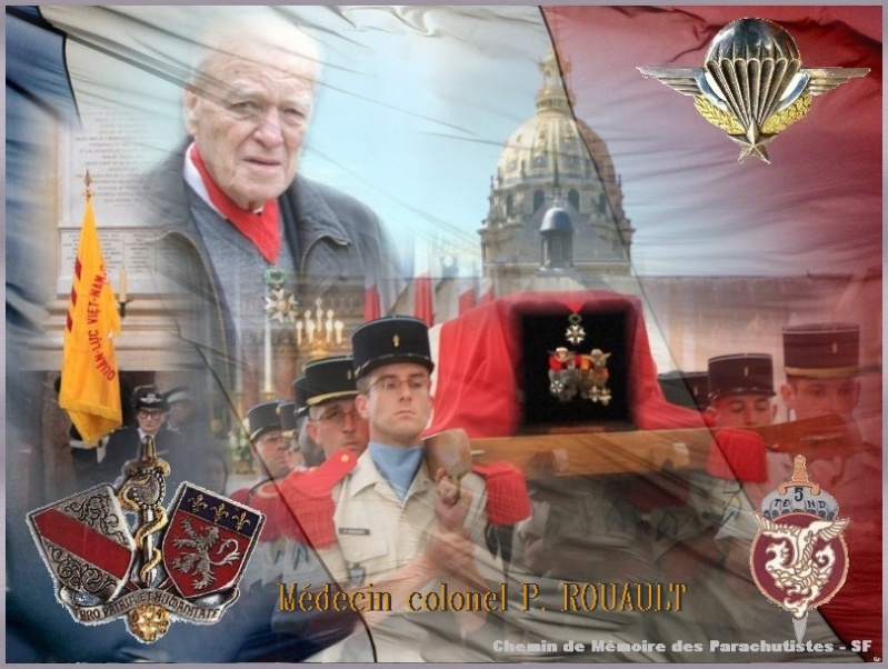 ROUAULT Pierre Médecin-colonel - 5e BPV-8e BPC - 21 septembre 2011 - Invalides cérémonie religieuse Rouaul11