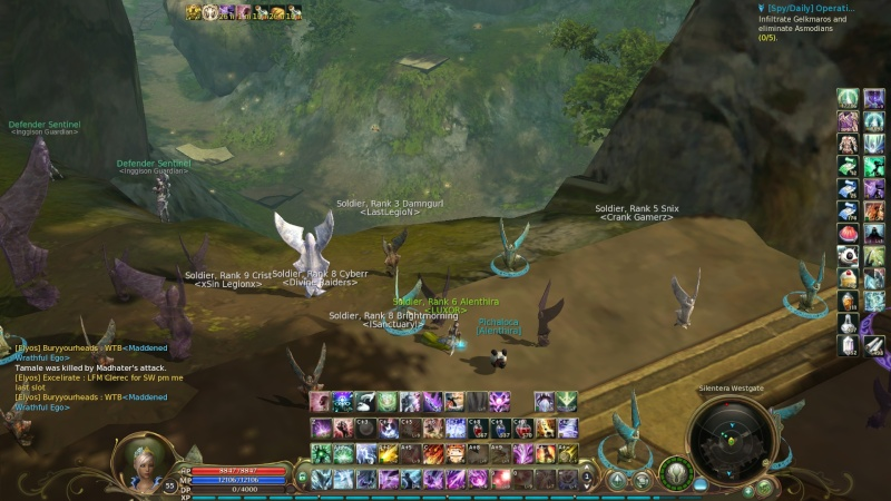 skills sorcer screen shot Aion0010