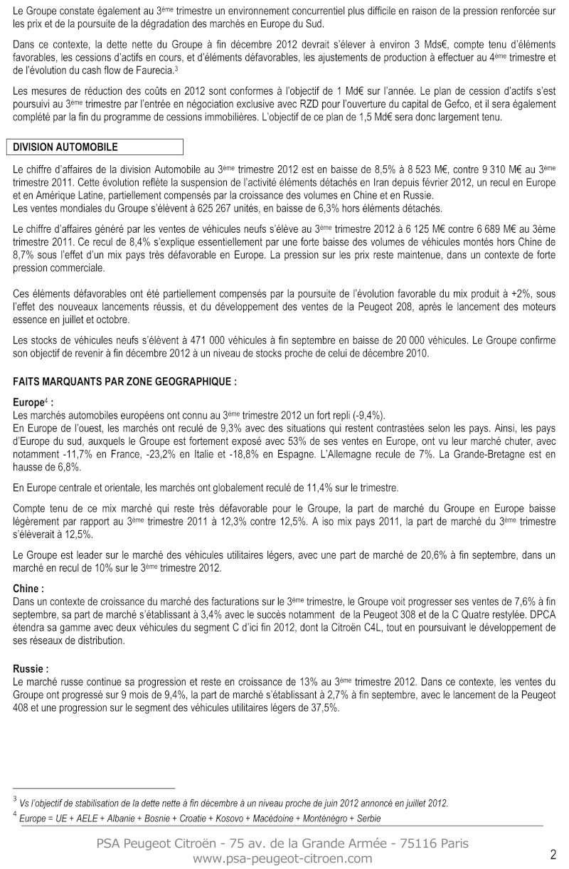 [COMMUNIQUES DE PRESSE]  PSA Peugeot Citroen 213