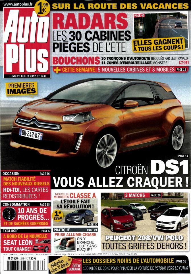 201? - [RUMEUR] Citroën DS1 M156610