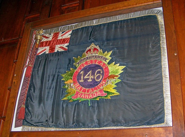 CEF Battalion Colours 58793410