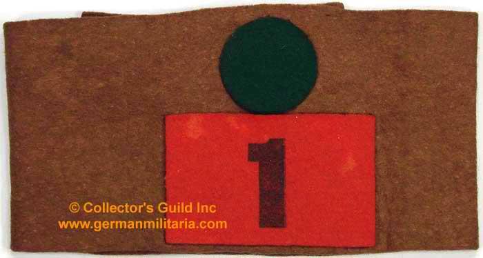 Canadian 1936 Vimy Ridge Memorial Dedication Armbands  C0299610