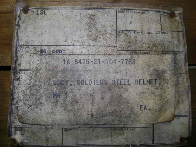 WW II Canadian Helmet Stash Found In Quebec Crate_10