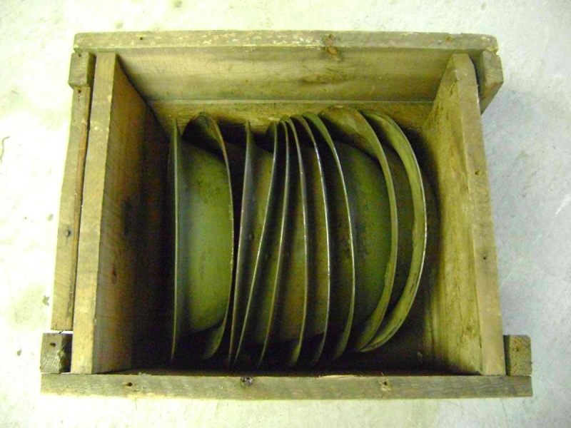WW II Canadian Helmet Stash Found In Quebec Crate_12