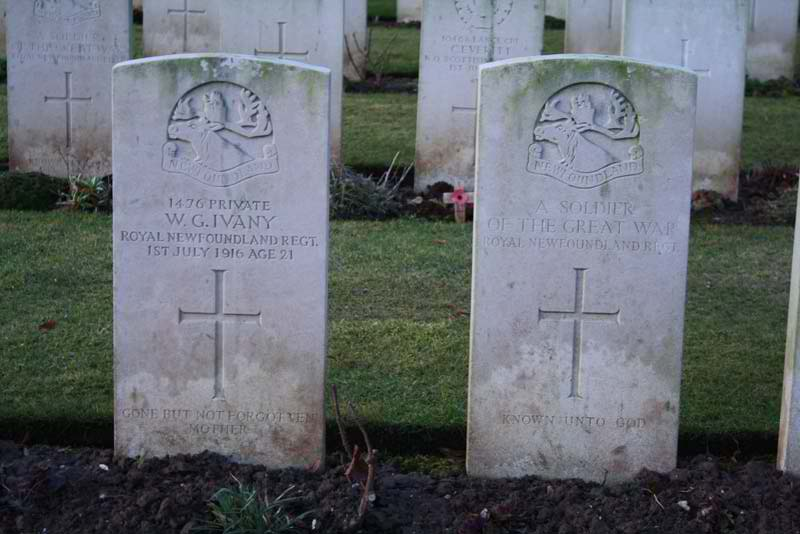 96th Anniversary of the Somme and Beaumont-Hamel: 1 July 1916 Ivany-10
