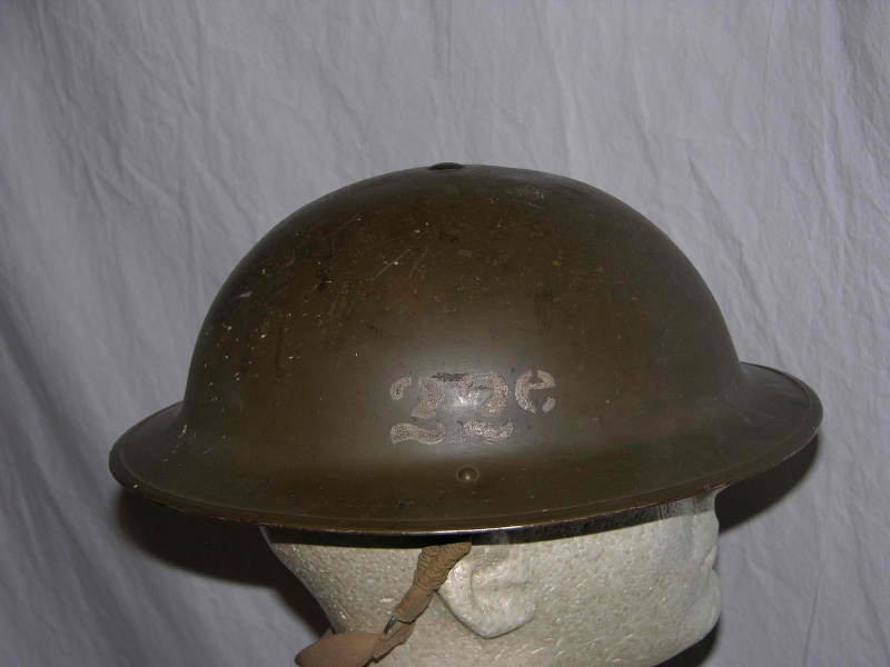 Royal 22e Regiment Vandoos Stenciled Helmet Kgrhqr12