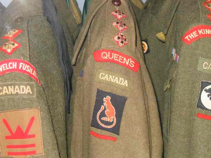 What is the Rarest WW II Canadian Battle Dress? Troopi12