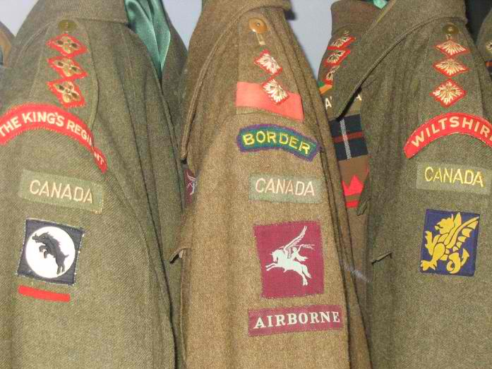 What is the Rarest WW II Canadian Battle Dress? Troopi13
