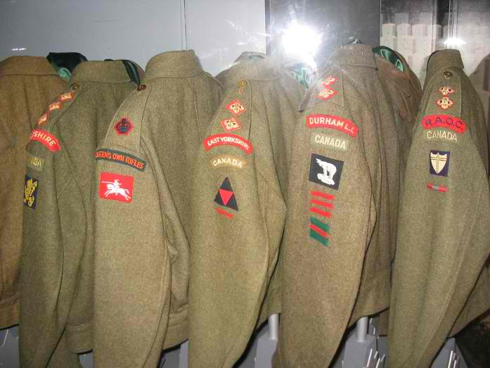 What is the Rarest WW II Canadian Battle Dress? Troopi14
