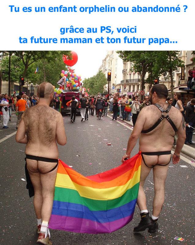 manif à Paris le 18 Nov : Non au Mariage homosexuel... Homo10