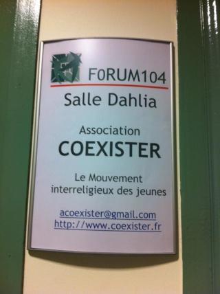 """[Blog] """"Les Jeudis de Coexister"""" 30079210"""