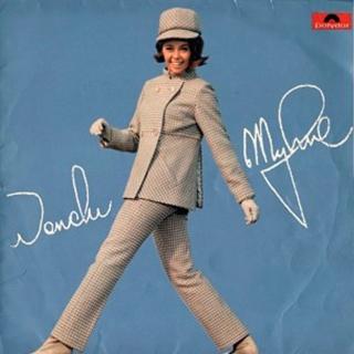 Wencke Myhre LP ( Polydor 249 100 )  1966 Wmf10