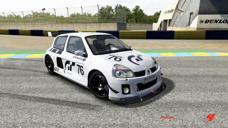 Personnalisation Clio Race Car 00 Clio10