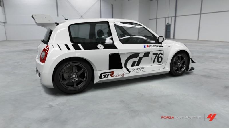 Personnalisation Clio Race Car 00 Clio_210