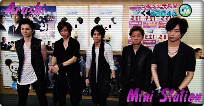 Arashi Mini Station Sub. Español 15.07.11 Ars10
