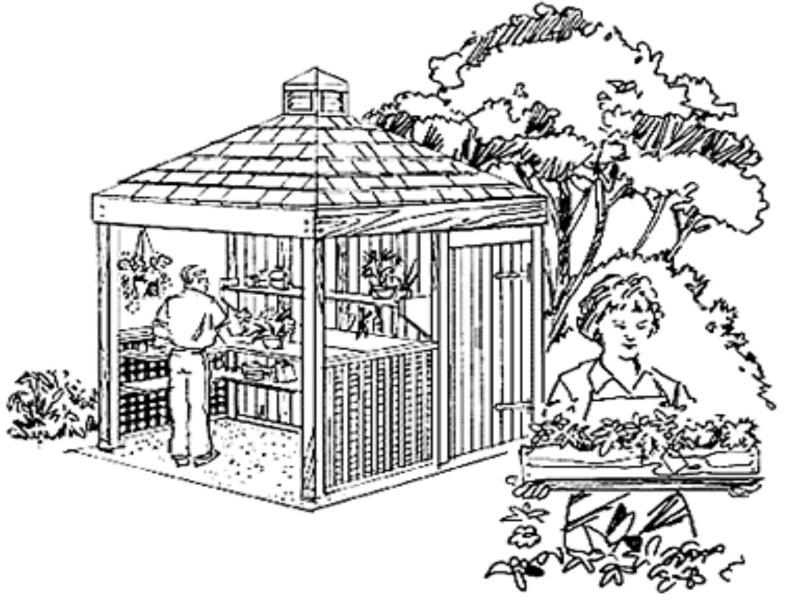 Réalisation d'une cabane de jardin 22124510