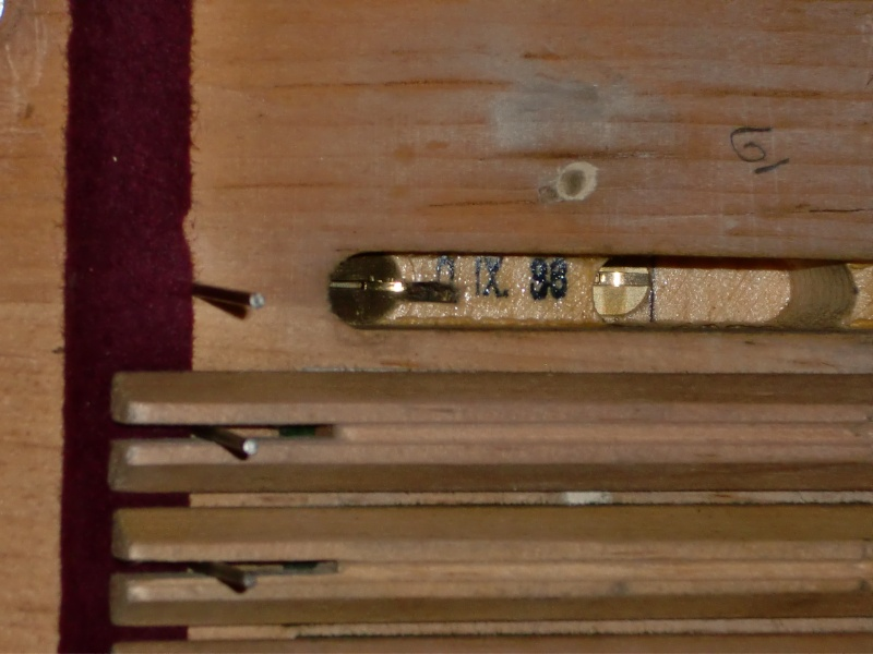 Reed Organ Arthur Spencer N° 2405, 1938 Cimg1719