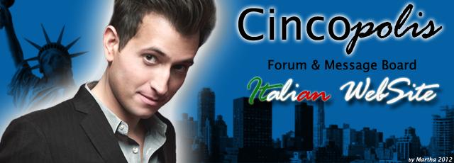 Il Forum Italiano di Peter Cincotti