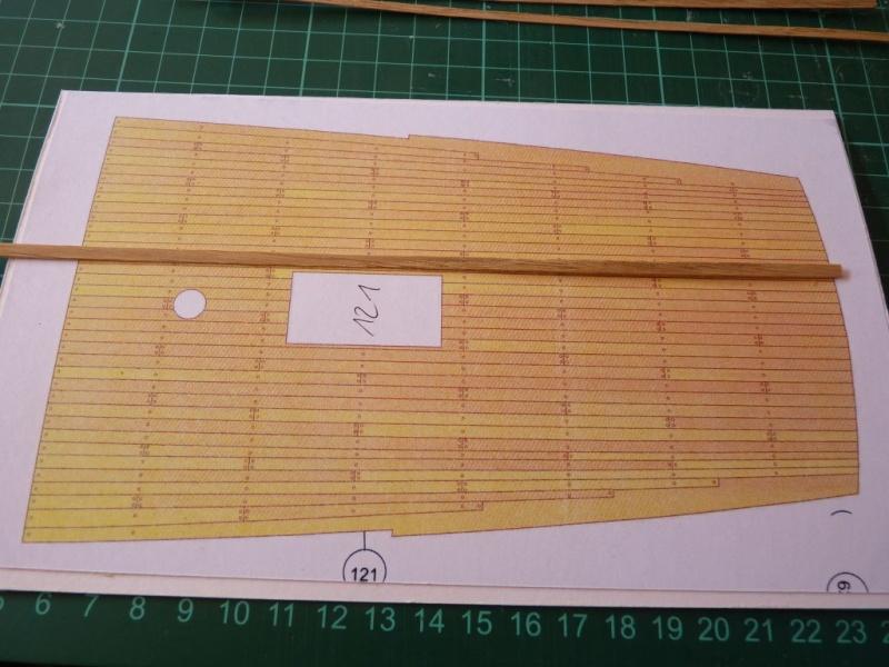 HMS Victory Shipyard scaliert 1:96 auf 1:84 aus Karton P1020236