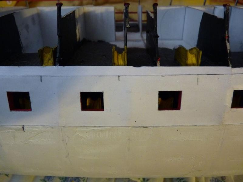 HMS Victory Shipyard scaliert 1:96 auf 1:84 aus Karton P1020313