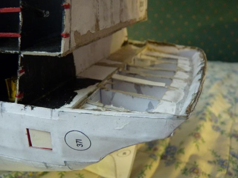 HMS Victory Shipyard scaliert 1:96 auf 1:84 aus Karton P1020315