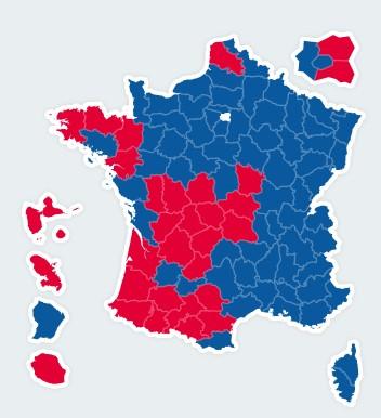 Résultats présidentielles 2nd tour 200710
